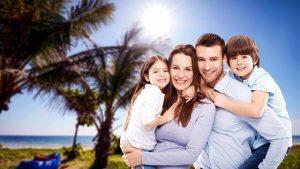 התנהלות פיננסית נכונה בחופשה - תמונה משפחתית