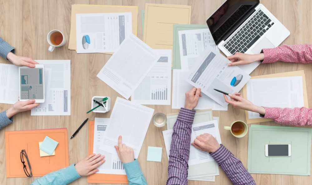 ארגון ניירת ומסמכים לניהול כלכלת המשפחה